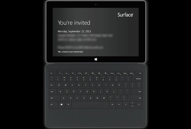 Surface Event