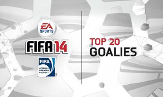 Los 20 mejores porteros de FIFA 14