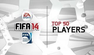 Los 50 mejores jugadores de FIFA 14