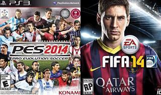 Demo de PES 2014 y FIFA 14 para PS3 en descarga directa