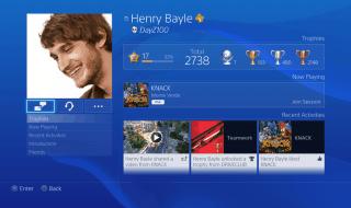 Nuevas imágenes de la interfaz de PS4 y su aplicación móvil