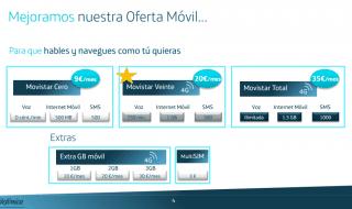 Movistar mejora su tarifa Total y lanza la Veinte