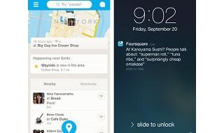 Foursquare empieza a activar las recomendaciones en tiempo real en el iPhone