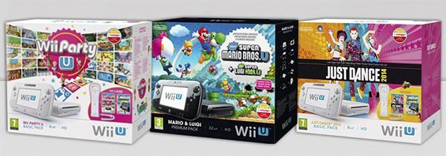 Wii U Packs