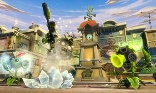 El modo a pantalla dividida de Plants vs. Zombies: Garden Warfare
