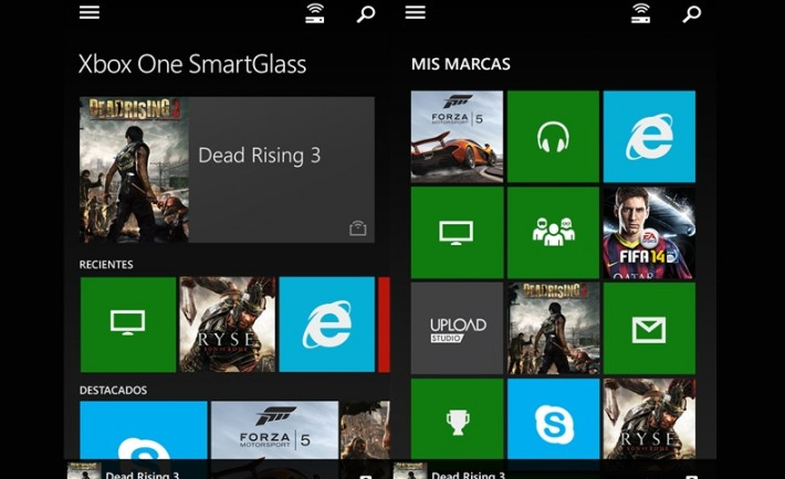 Smartglass Windows Phone