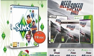 Need for Speed Rivals y Los Sims 3, rebajados hasta enero