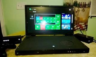 Un modder hace realidad la Xbox One 'portátil'