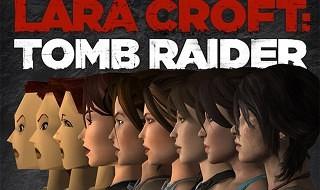La evolución de Lara Croft en estos 18 años