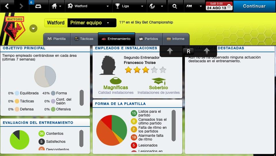 Spanish Training