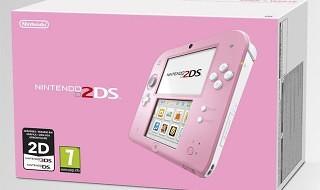 Nueva Nintendo 2DS blanca y rosa en camino