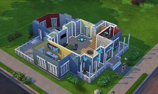 La construcción de edificios en Los Sims 4