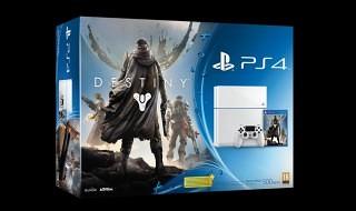 Así luce la PS4 blanca que llegará junto a Destiny