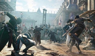 Gameplay, cámara en mano, de Assassin's Creed Unity