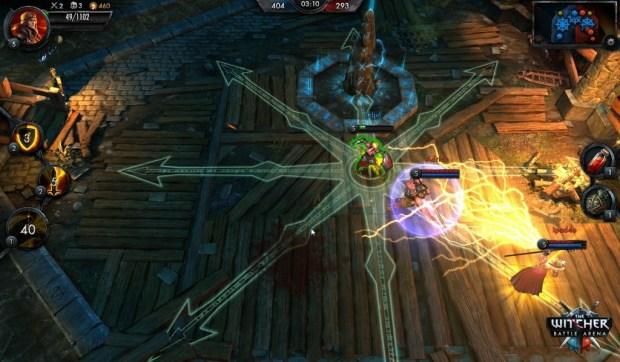 The_Witcher_Battle_Arena_Saskia_Dragonsoul_logo