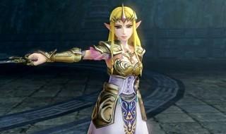 La princesa Zelda repartiendo galletas en Hyrule Warriors