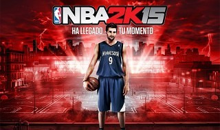 Ricky Rubio será la imagen de NBA 2K15 en España