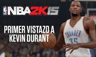 Primer vistazo a Kevin Durant en NBA 2K15
