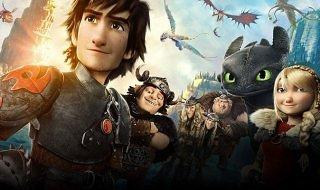 Como entrenar a tu dragón 2 es la película más descargada de la semana