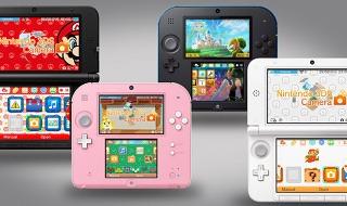 El nuevo firmware 9.0.0-20 de Nintendo 3DS incluye temas para los menús