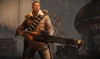 Cabot, el lider de los cazadores en Evolve
