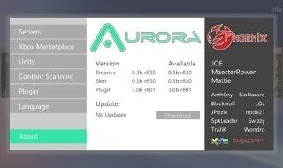 Aurora 0.3b para Xbox 360