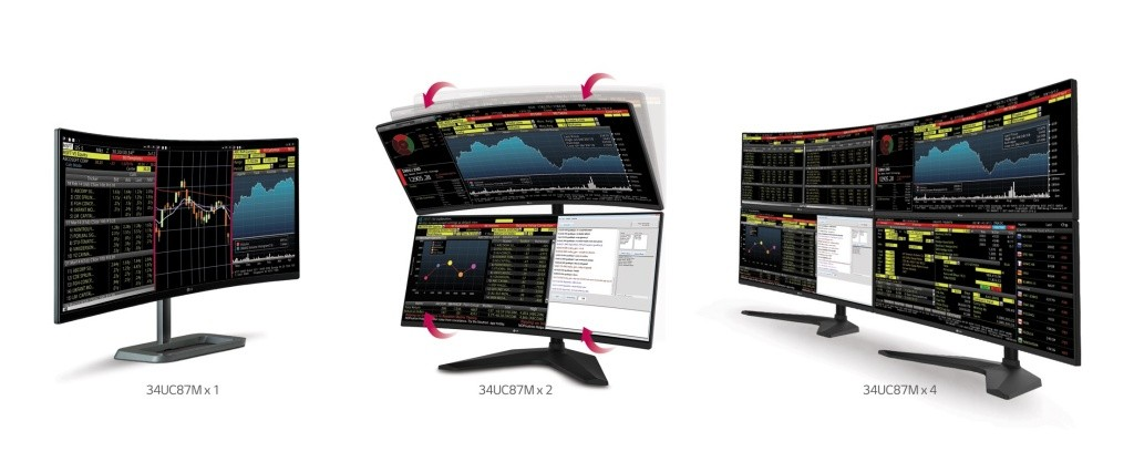 LG 34UC87M Monitor