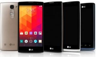 Magna, Spirit, Leon y Joy, los nuevos smartphone gama media de LG