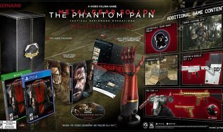 Las ediciones especiales de Metal Gear Solid V: The Phantom Pain