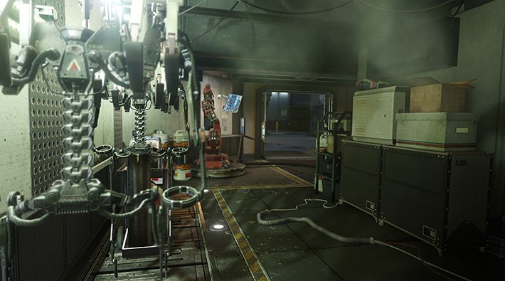 COD AW DLC_Ascendance_Chop Shop Environment