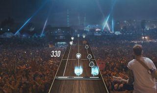La nueva guitarra de Guitar Hero Live