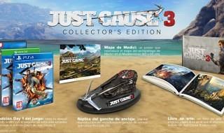 Esta es la edición de coleccionista de Just Cause 3