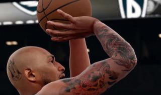 La personalización de los tatuajes en NBA 2K16