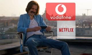 Vodafone incluirá a Netflix en su servicio de TV