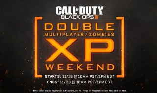 Empiezan cinco días de doble XP en Call of Duty: Black Ops III