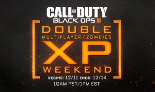 Fin de semana de doble XP en Call of Duty: Black Ops III