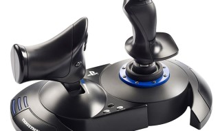 T.Flight Hotas 4 de Thrustmaster, el primer flight stick para PS4