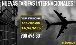MásMóvil renueva sus tarifas internacionales