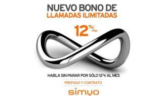 Simyo estrena bono de llamadas ilimitadas por 12,5€ al mes
