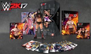 La edición de coleccionista de WWE 2K17