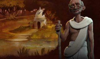 Mahatma Gandhi dirigirá a la India en Civilization VI