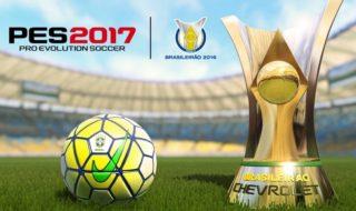 PES 2017 tendrá las licencias de los 20 equipos de la primera división brasileña