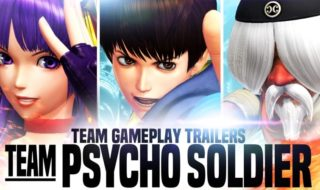 El equipo Psyco Soldier de The King of Fighters XIV