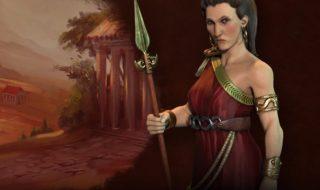 Gorgo dirige a Grecia en Civilization VI