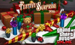 Ya disponible la Sorpresa Festiva de GTA Online 2016