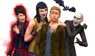 Los vampiros llegarán el 24 de enero a Los Sims 4