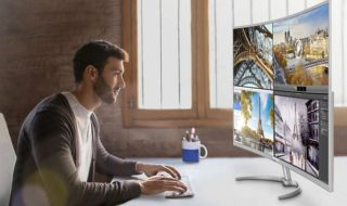 Philips Brilliance BDM4037UW, un monitor curvo 4K de 40 pulgadas