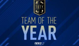 El equipo del año (TOTY) en FIFA 17 para el modo Ultimate Team