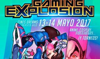 Anunciada la primera edición de la Gaming Explosion los días 13 y 14 de mayo
