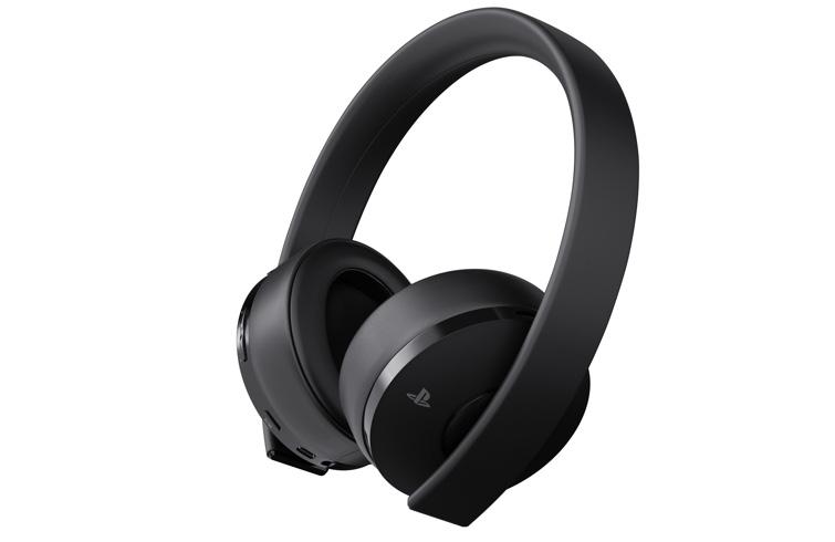 Gold Wireless Headset